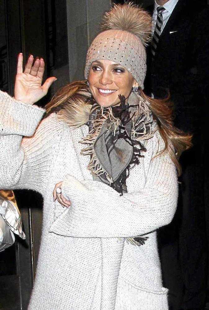 Jennifer Lopez, J. Lo en hiver, c'est le pompon !