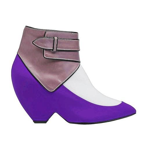 Boots tricolores, Balenciaga 1 035 €