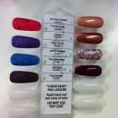 Les huit coloris de vernis disponibles !