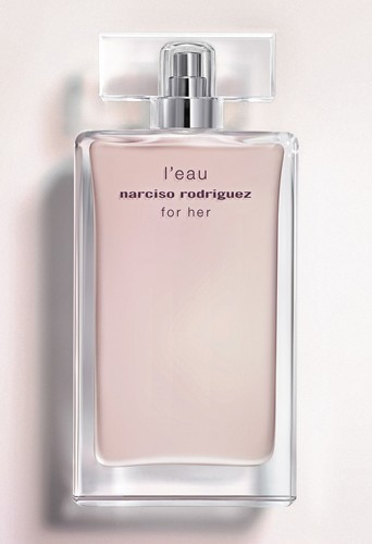 Eau de parfum, L'eau for her, Narciso Rodriguez, 100 ml, 92€