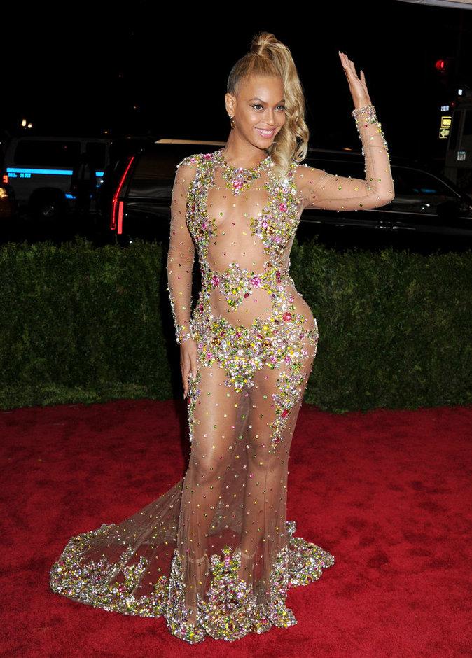 Beyonce lors du Met Gala 2015