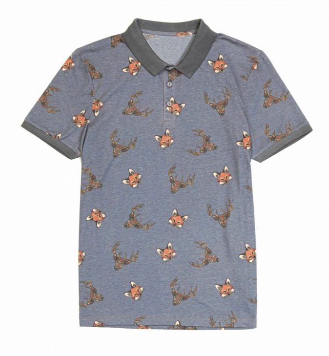 Polo imprimé animal, Asos 26 €