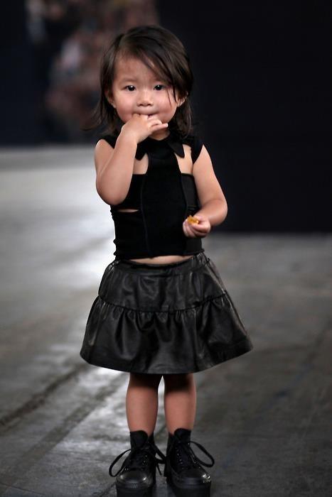 Aila Wang, La plus petite et la plus mignonne des icônes de la mode !