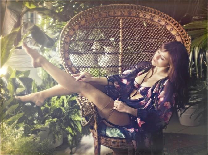Mylène Jampanoï so sexy !