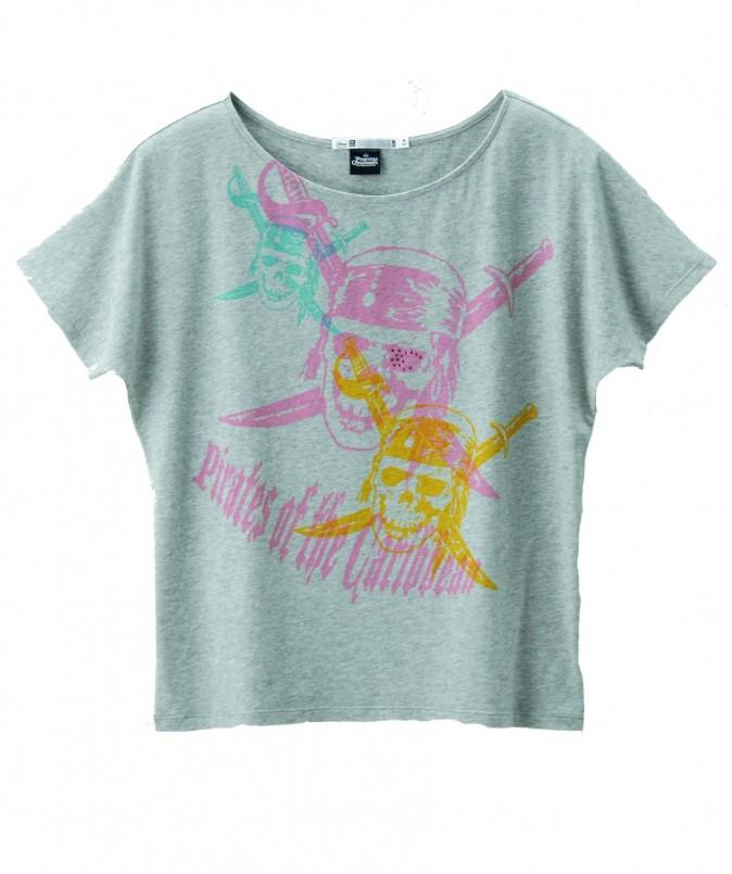 T-shirt Pirates des Caraïbes, Uniqlo, 14,90 €