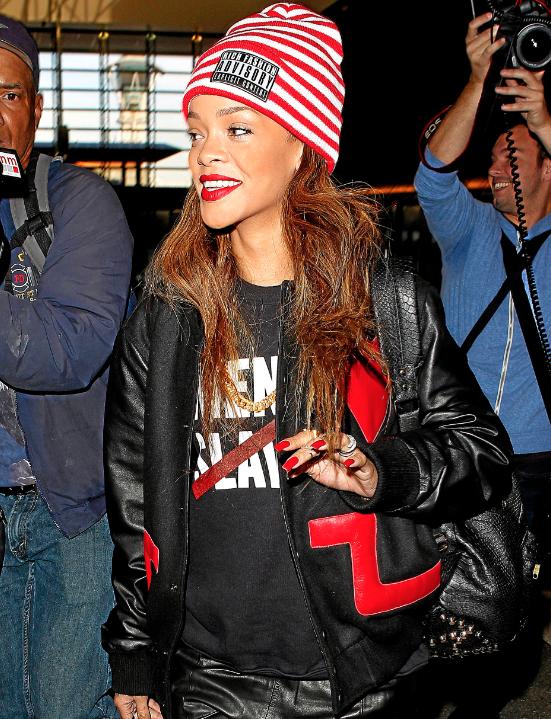 Le bonnet de Rihanna