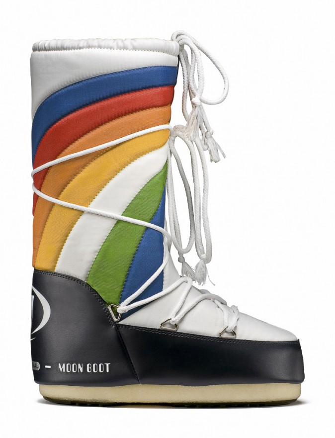 MoonBoot Rainbow, 125€