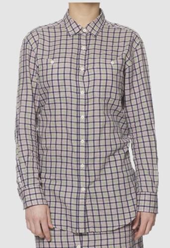 Chemise à carreaux Agyness Deyn x Dr Martens