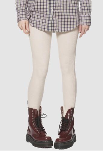 Legging beige Agyness Deyn x Dr Martens