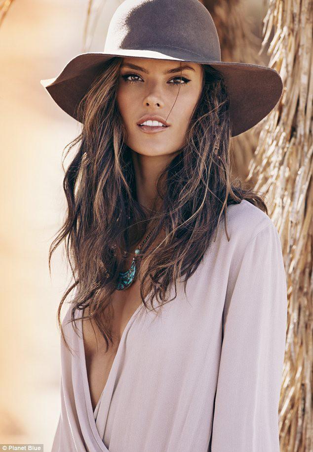 Mode : Alessandra Ambrosio : le top lance sa ligne de vêtements hippie-chic !
