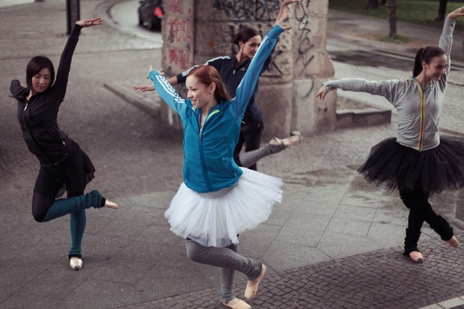 Les danseuses du Staatsballett de Berlin !