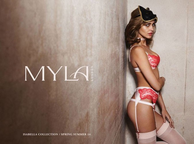 Ana Beatriz Barros pour Myla London