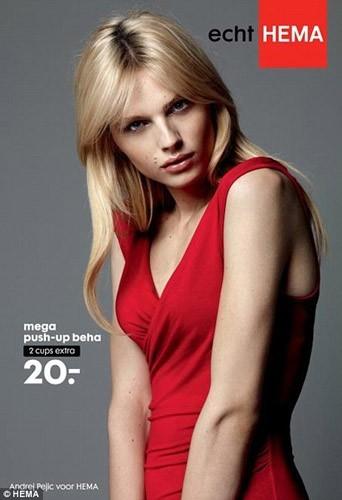 Andrej Pejic, l'homme mannequin pose pour une marque de lingerie !