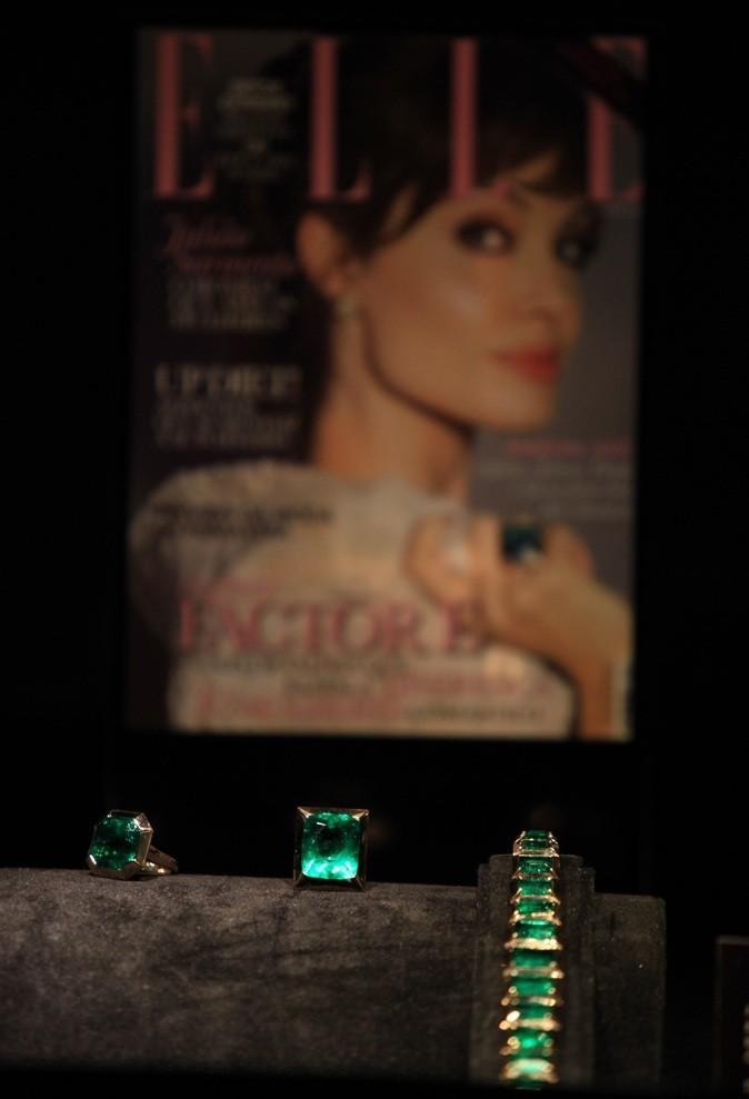 Bagues et collier d'émeraudes, collection Style of Jolie