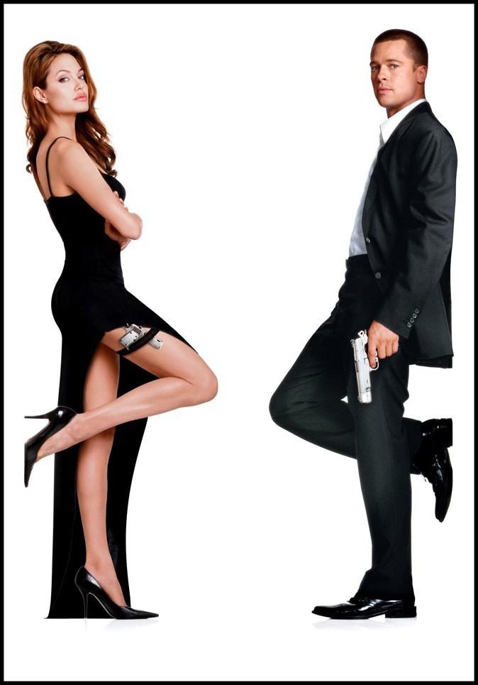 2005 : Angelina Jolie et brad Pitt à l'affiche de Mr. & Mrs. Smith