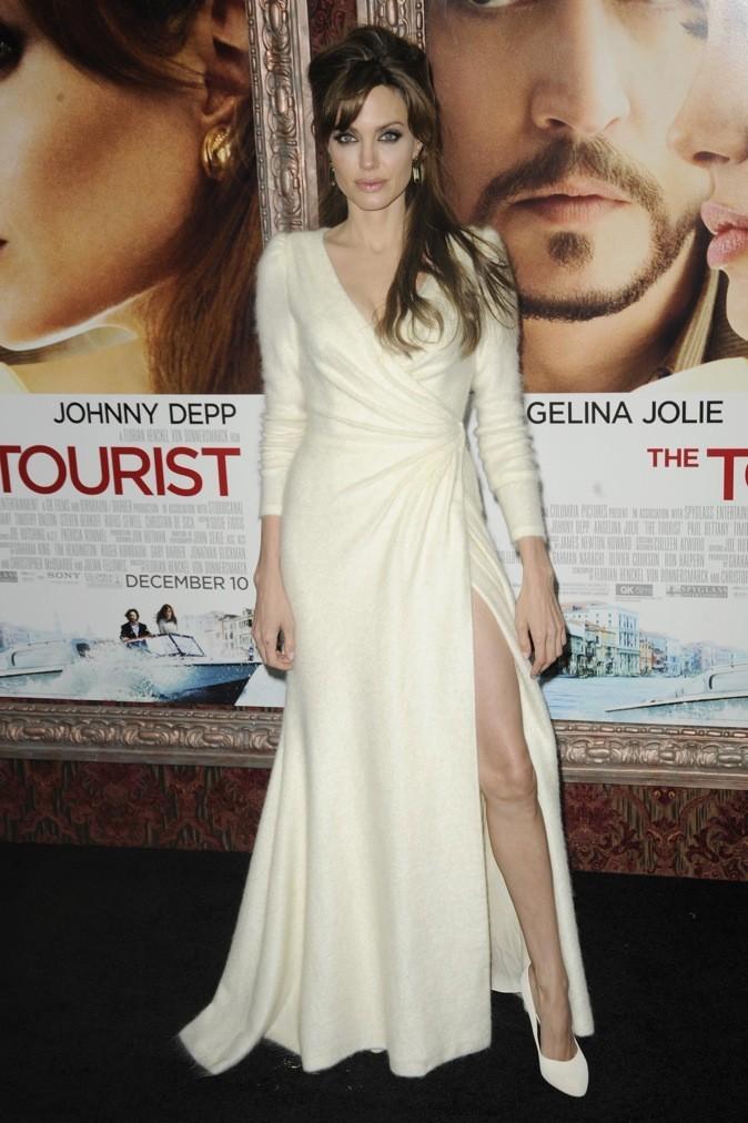 Décembre 2010 : Angelina Jolie à l'avant-première de The Tourist