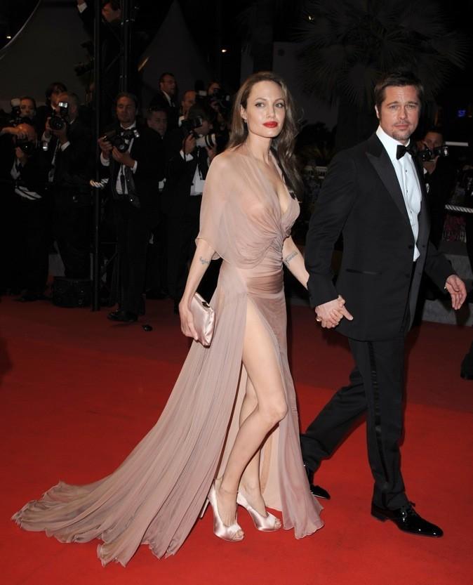 Mai 2009 : Angelina Jolie et Brad Pitt au Festival de Cannes