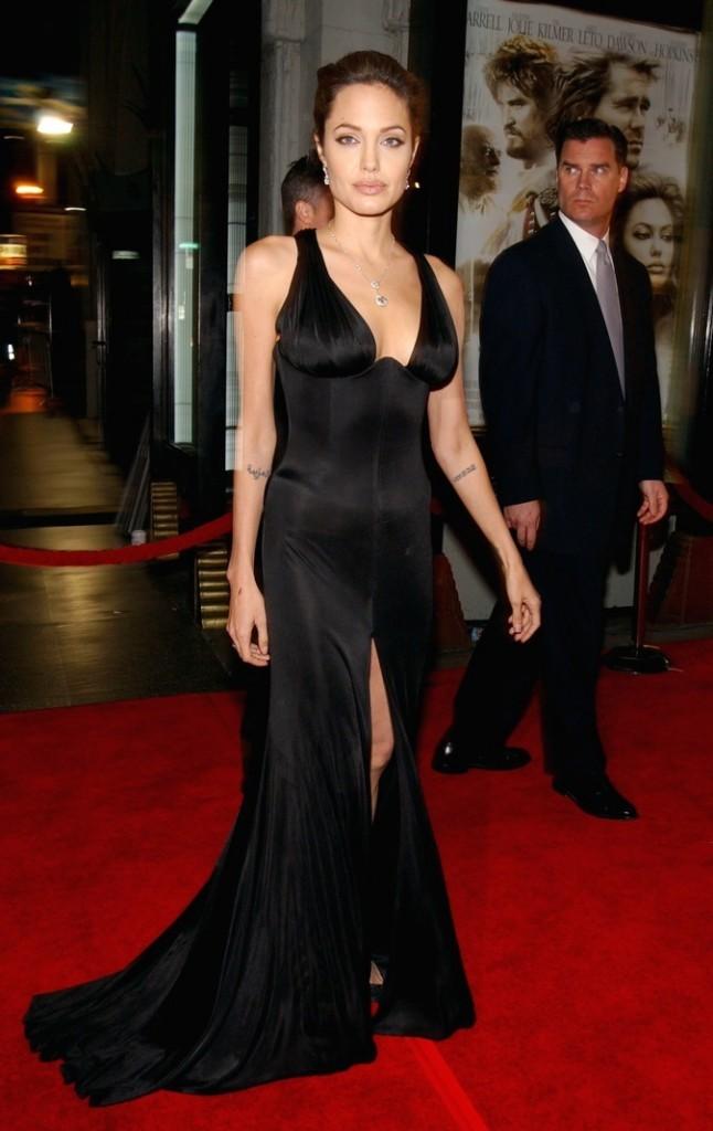 Novembre 2004 : Angelina Jolie à l'avant-première d'Alexandre
