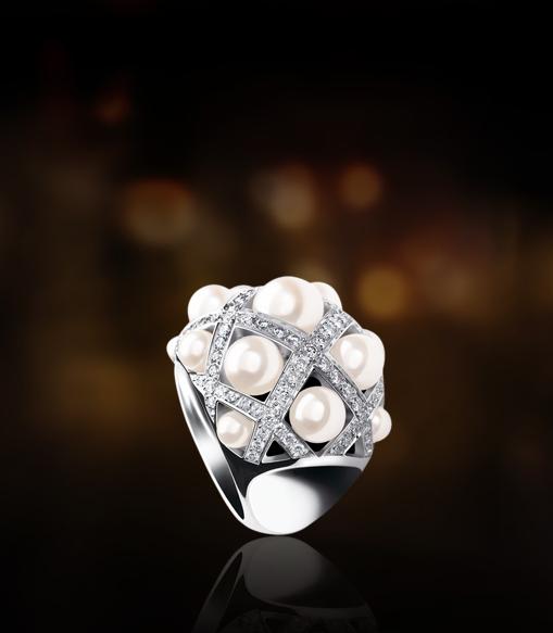 La gamme Baroque de Chanel : la bague perles !