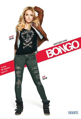 AnnaSophia Robb nouvelle égérie rock et girly pour Bongo !