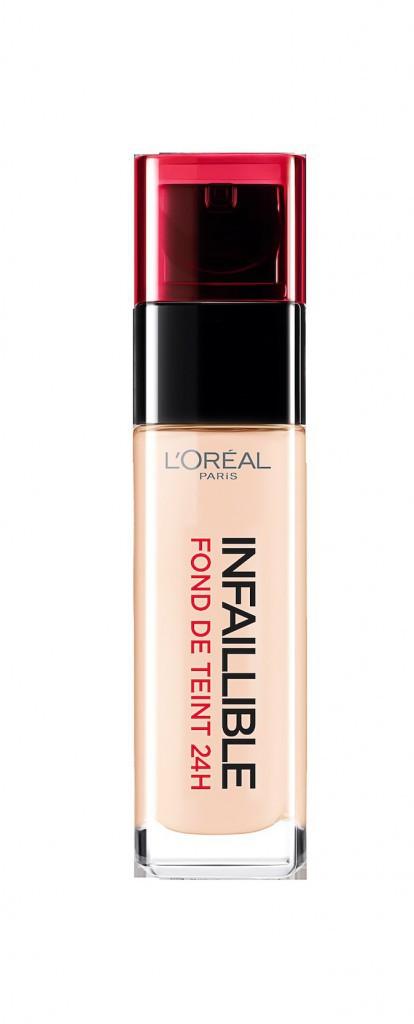 Fond de teint Infaillible, L'Oréal 19,50€