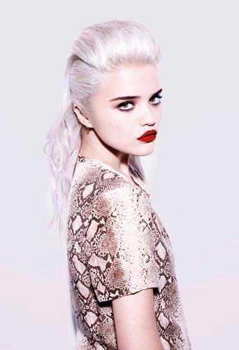 Sky Ferreira, son interview mode/beauté !