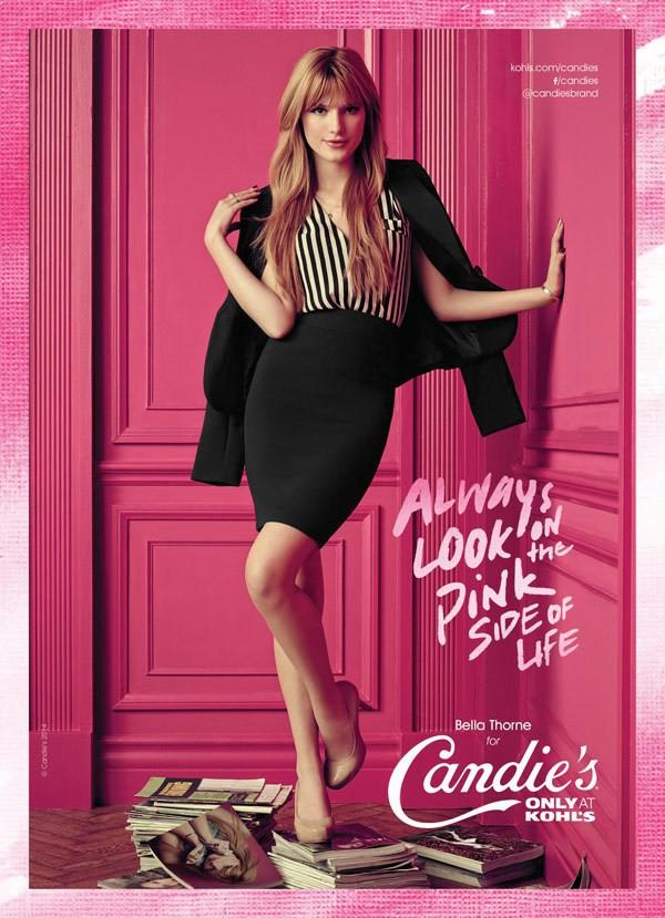 Mode : Bella Thorne : elle est la nouvelle égérie Candie's !