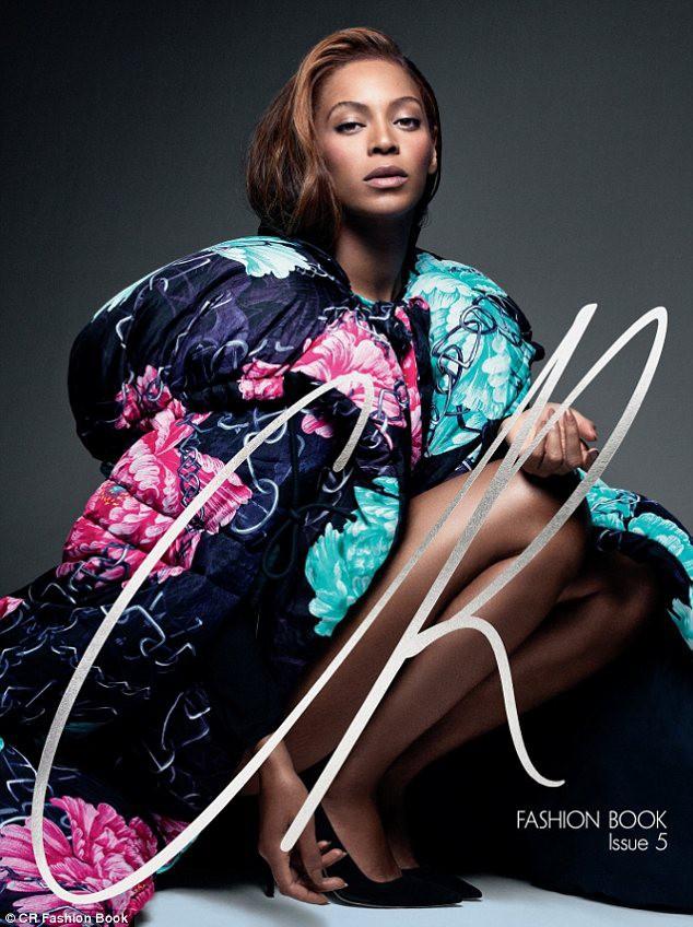 Beyoncé en couverture du dernier CR Fashion Book