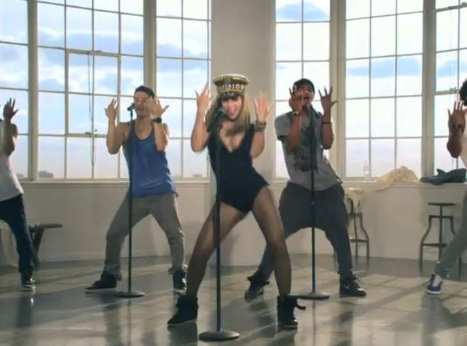Beyoncé, entourée de ses boys !