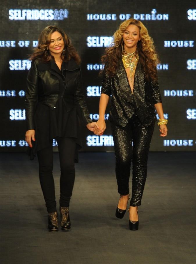 Beyoncé et sa mère pour leur défilé