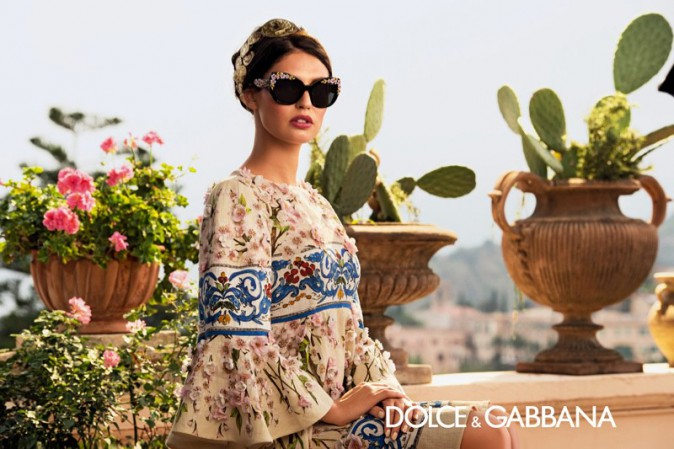 Mode : Bianca Balti, une madone qui a l'œil pour Dolce & Gabbana !
