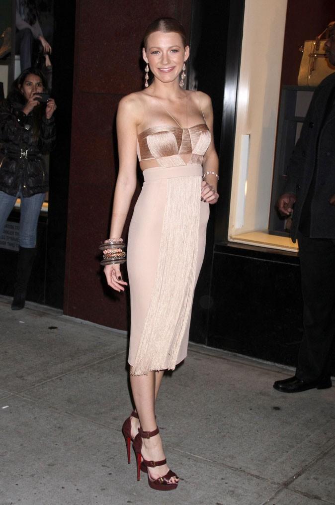 ...robe bustier pour Blake aussi