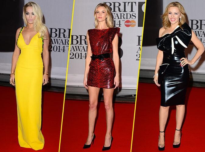 Les looks des Brit Awards 2014