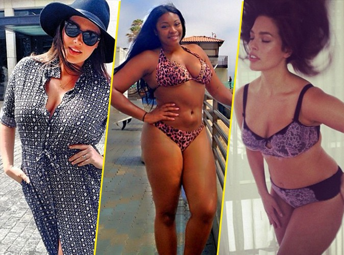 "Mode : Candice Huffine, Liris Crosse, Ashley Graham…: la revanche des mannequins ""grande-taille"" !"