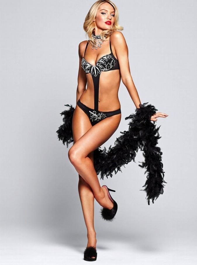 Candice Swanepoel, égérie sexy pour Victoria's Secret