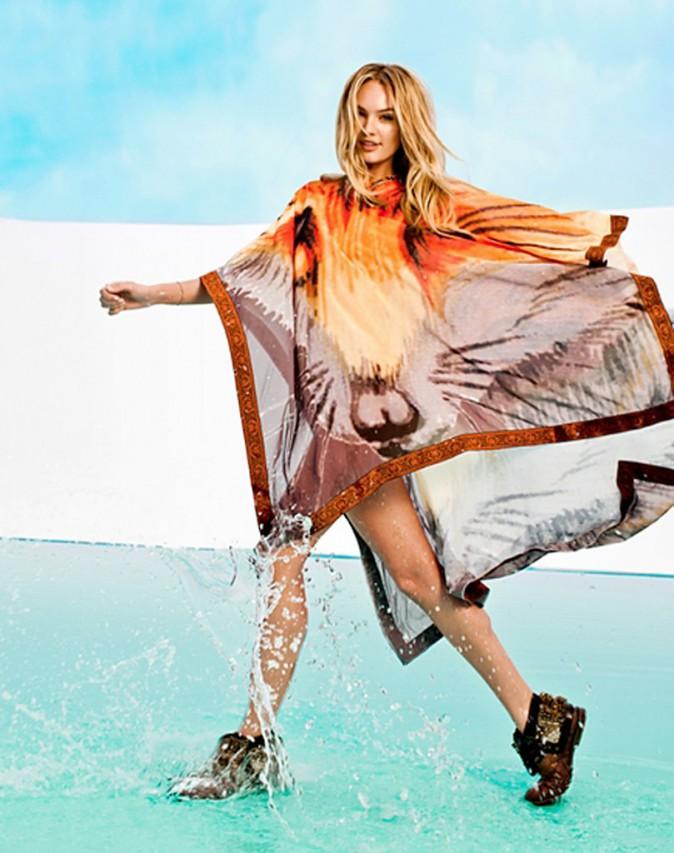 Mode : Candice Swanepoel : la bombe dégaine le string pour Aqua Bendita !