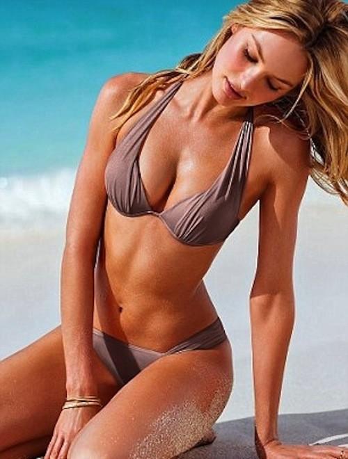 Mode : Candice Swanepoel : Une beauté angélique en bikini pour Victoria's Secret !