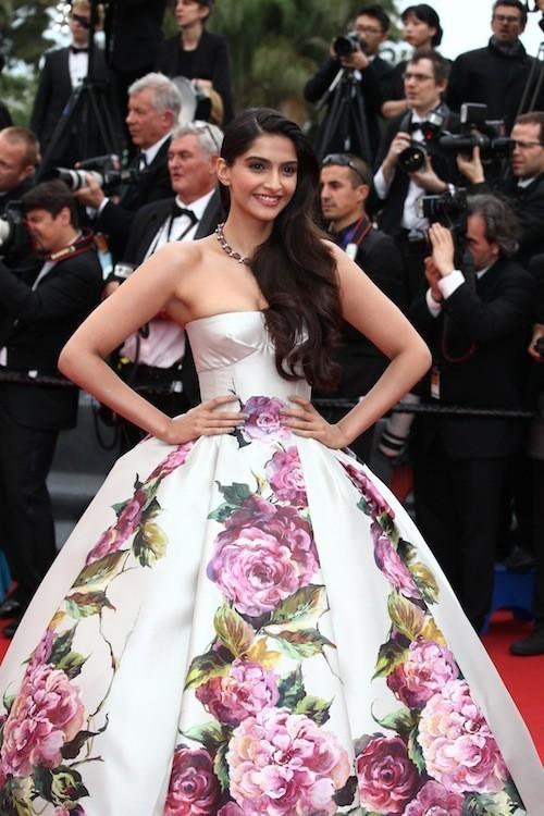 Sonam Kapoor le 16 mai 2013