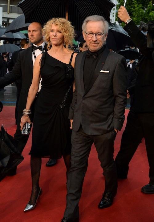 Steven Spielberg et sa femme