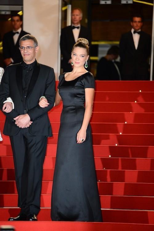 Abdellatif Kechiche et Lea Seydoux le 23 mai 2013