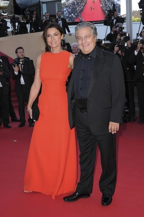 Christian Clavier et Isabelle de Araujo