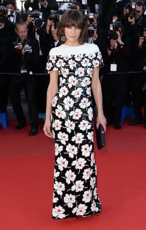 Milla Jovovich le 20 mai 2013