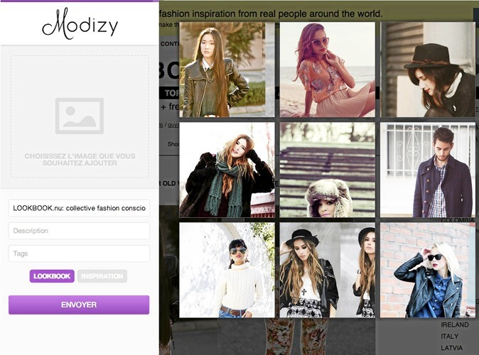 Modizy : Personal shopper