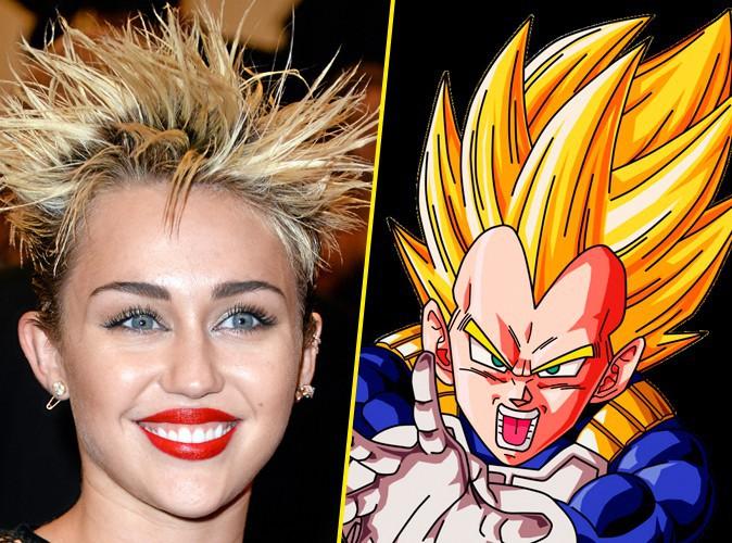 Miley Cyrus et Végéta !