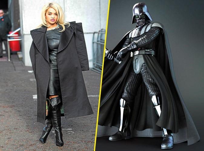 Rita Ora et Dark Vador !