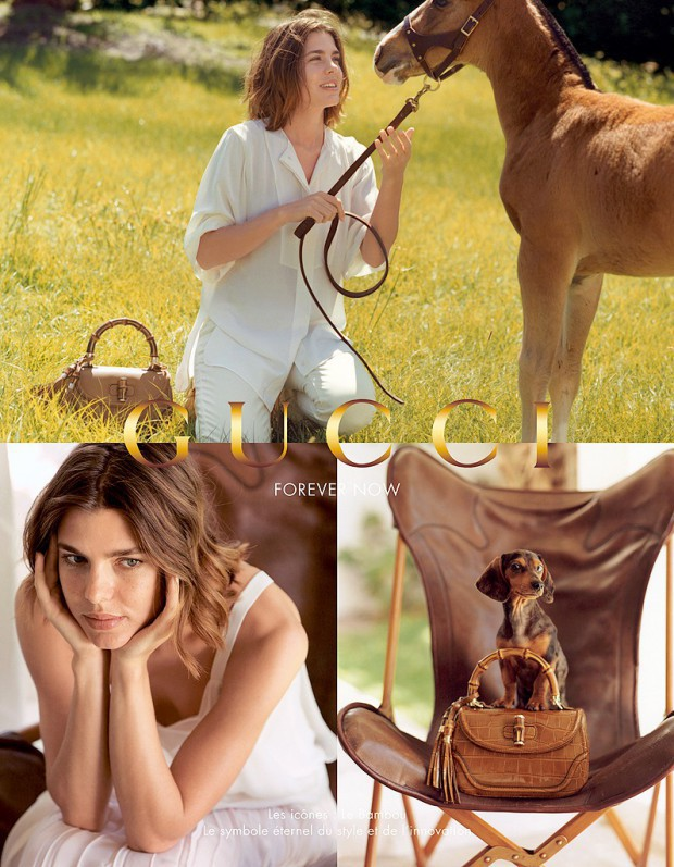 Mode : Charlotte Casiraghi : la future maman sublime pour Gucci Forever Now !