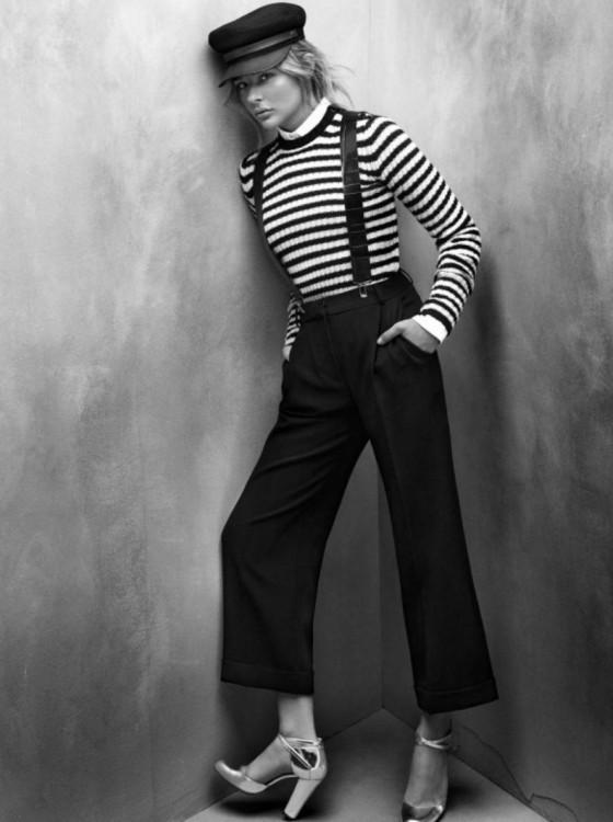 Chloë Moretz pour la collection automne-hiver 2012 de Max Mara