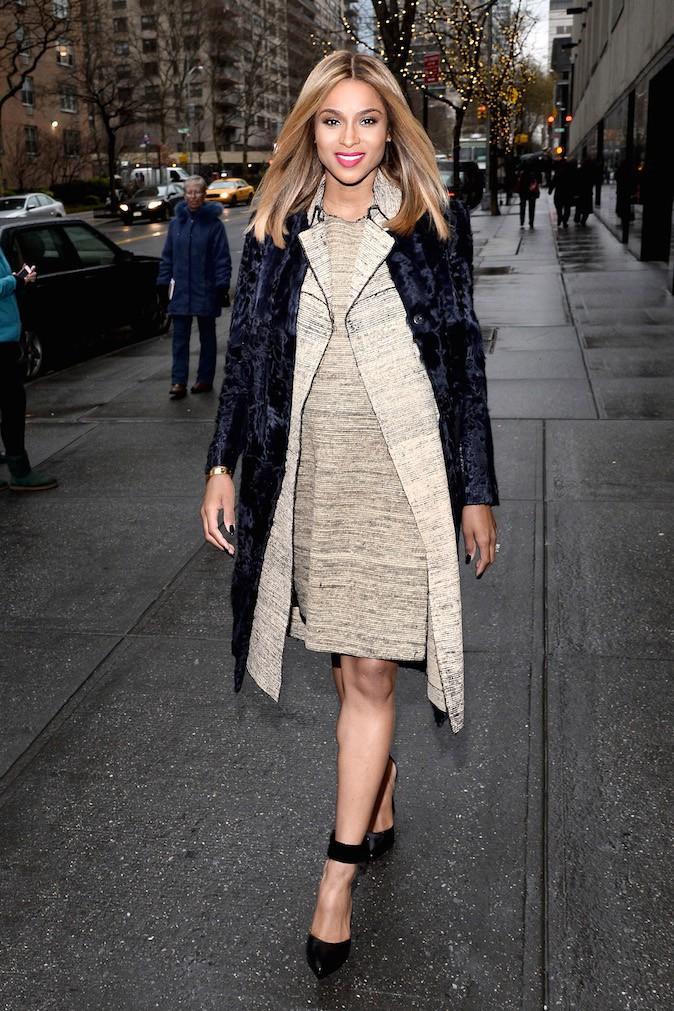 Mode : Ciara : découvrez son CV fashion de femme enceinte !