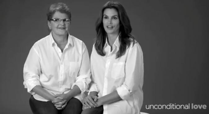 Cindy Crawford et sa maman pour la campagne JCPenney