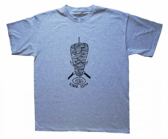 "T-shirt ""Roi du kebab"", Bottenberg & Birdsall 24 €"
